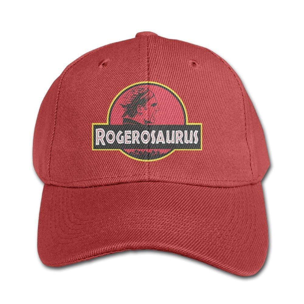 Mollie Storey Jurassic Roger Federe Travel Caps Hats Twill Cap For Children Red