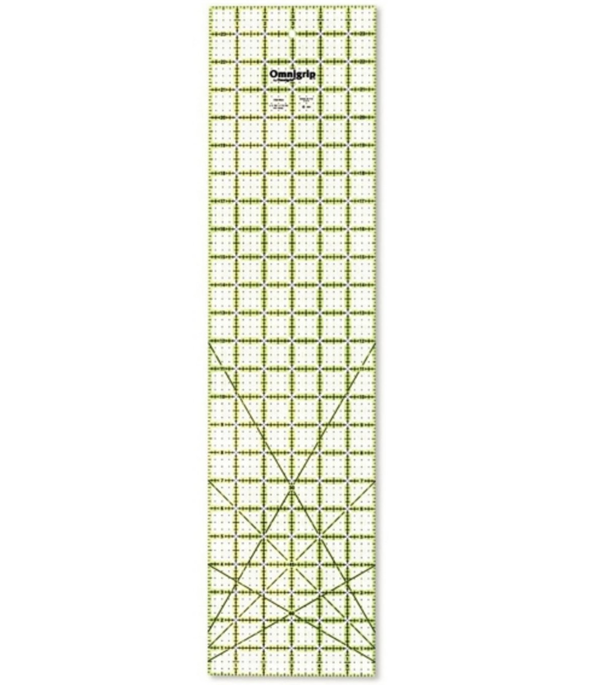 Omnigrip 6-Inch-by-24-Inch Non-Slip Quilter's Ruler RN24