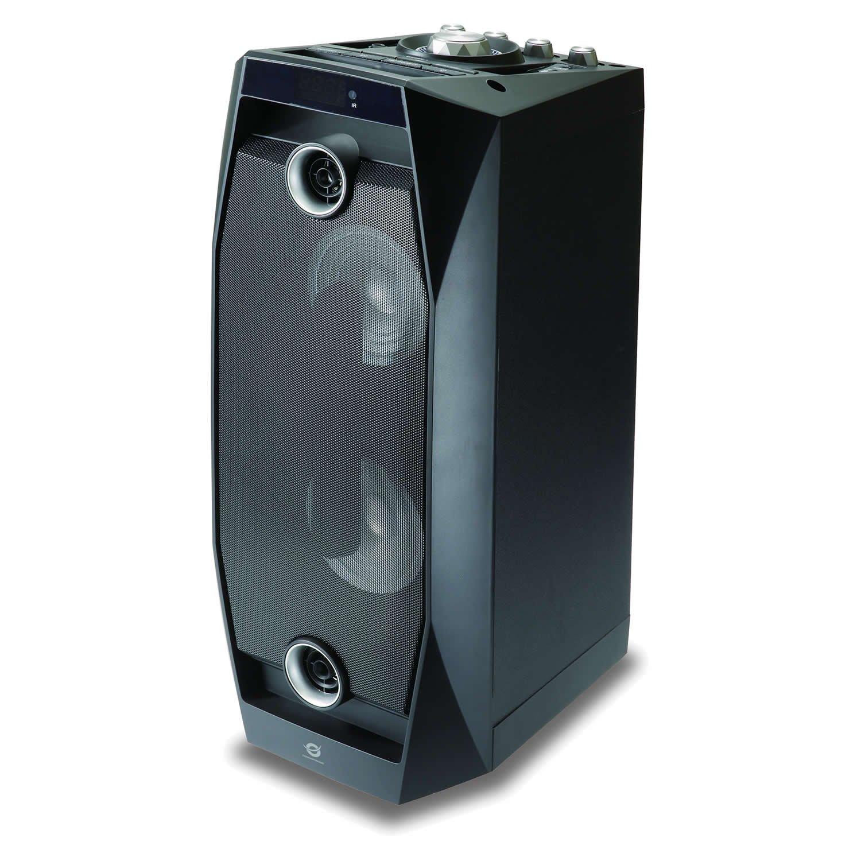 Conceptronic CSPKBTBASSDISCOB 50W Negro Altavoz - Altavoces (Universal, 1.0, 50 W, 100-20000 Hz, 125 dB, 1%) 120833207