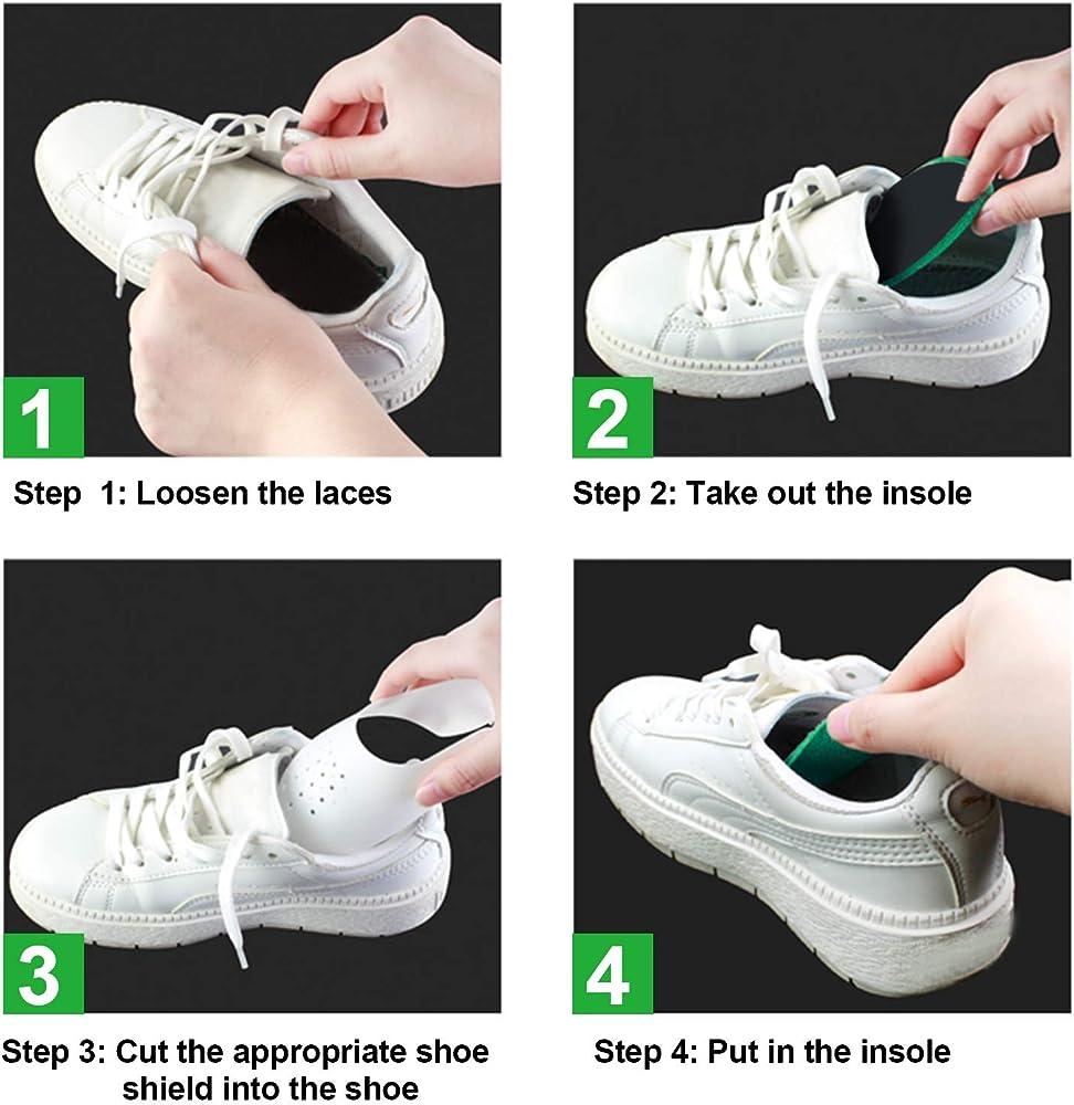 Shoe Shields Crease Protector Anti