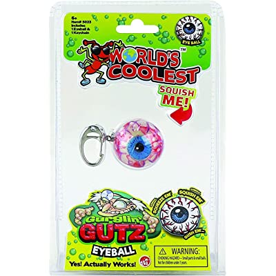 World's Coolest Gurglin' Gutz Eyeball, Multicolor: Toys & Games
