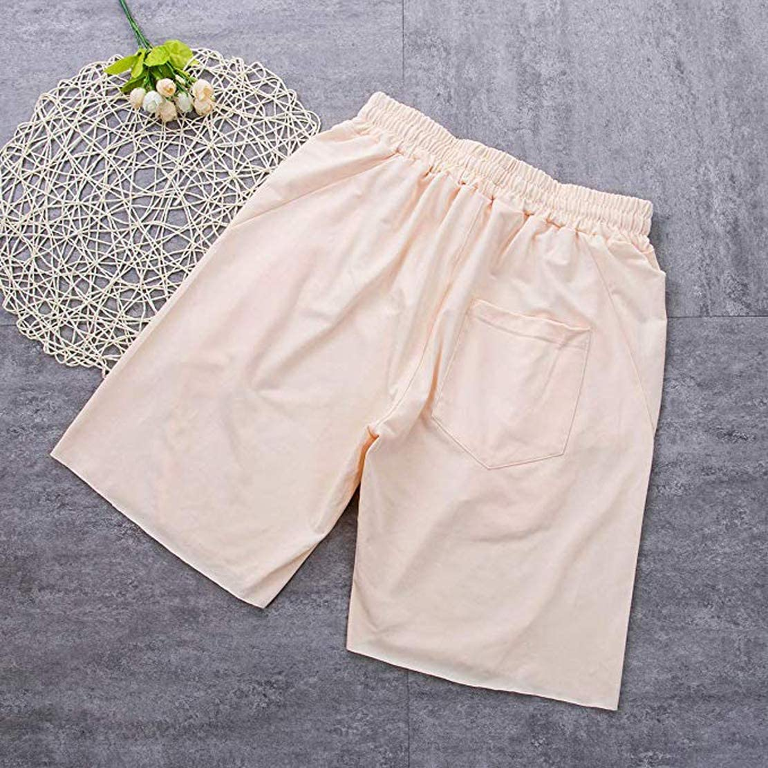 do.Cross Men/´s Shorts Loose Trunks Sweatpants for Sports Casual Short Pants Jogging Running Shorts with Pocket