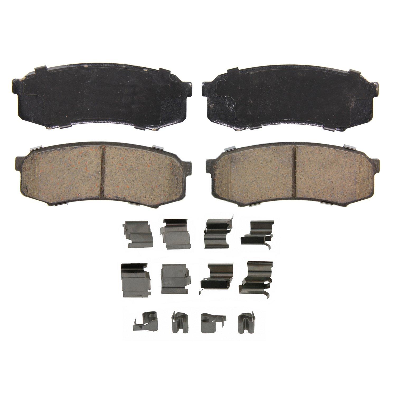 Disc Brake Pad Set-QuickStop Disc Brake Pad Rear Wagner ZX667