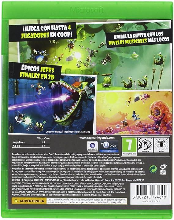 Rayman Legends: Amazon.es: Videojuegos
