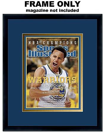Amazoncom Sports Illustrated Magazine Frame With Golden State