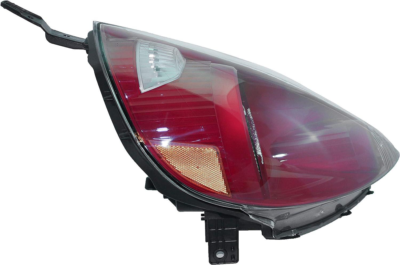 Partslink Number HO2519121 33101-SLN-A01ZG Genuine Honda Fit Passenger Side Headlight Lens//Housing
