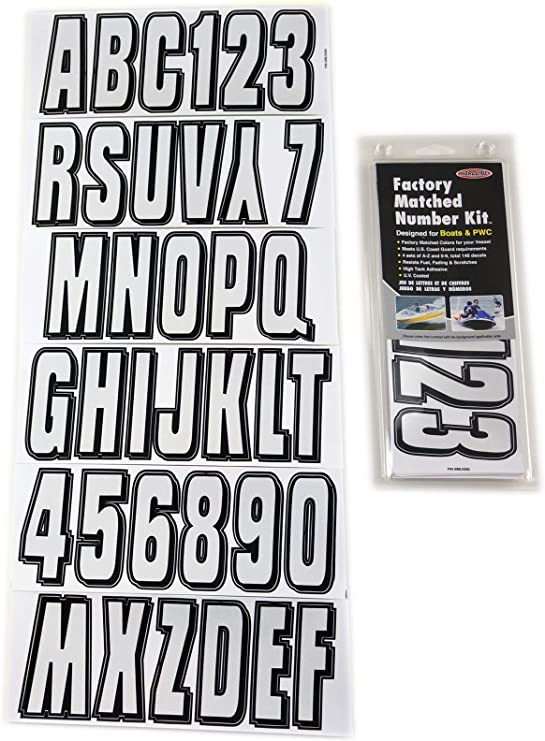 BOATS /& PWC NWT. Details about  /HARDLINE FACTORY MATCHED NUMBER KIT