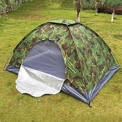GUO Double camouflage simple couche camping en plein air tente de camping