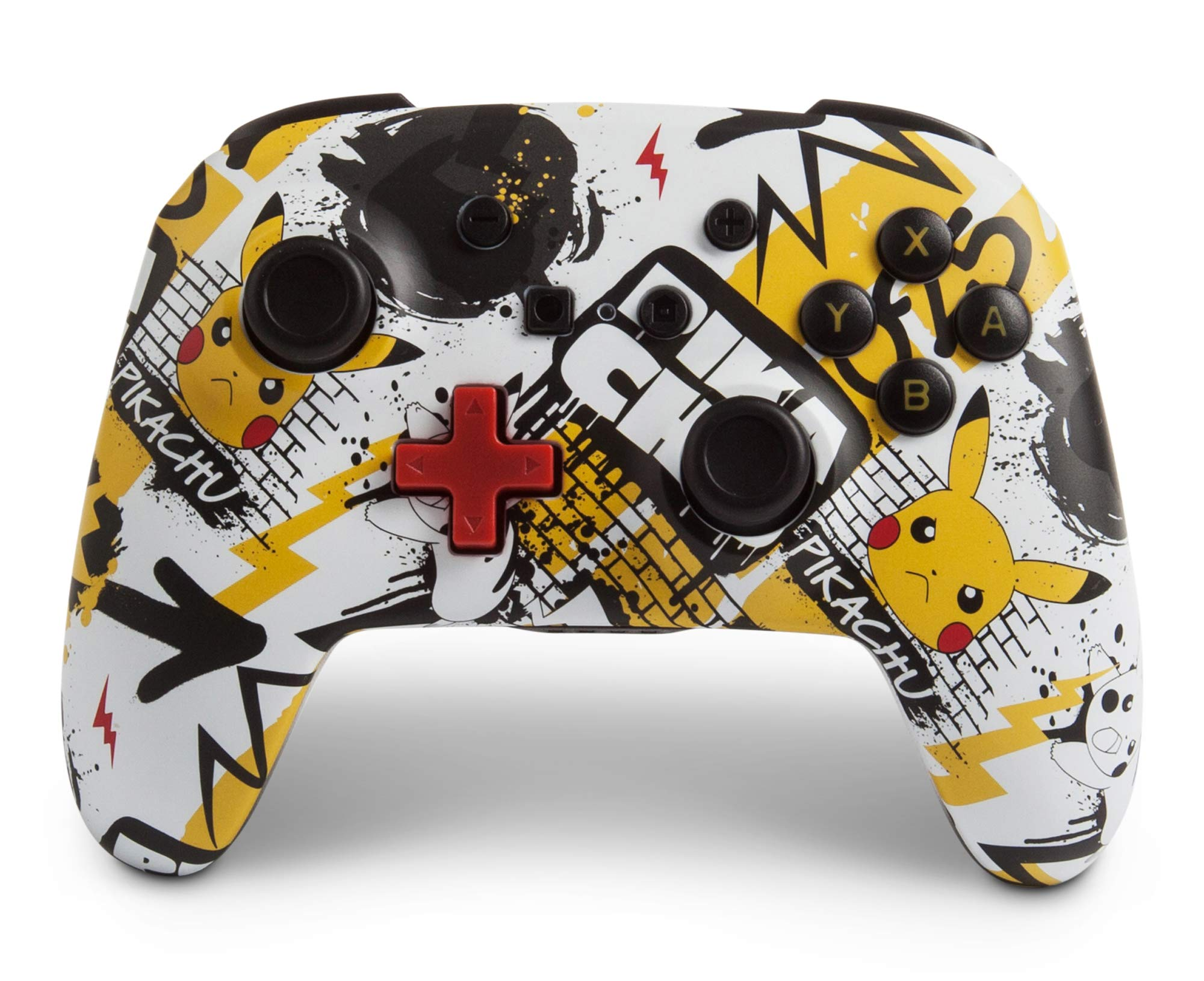 PowerA Enhanced Wireless Controller for Nintendo Switch - Pokemon Graffiti - Nintendo Switch