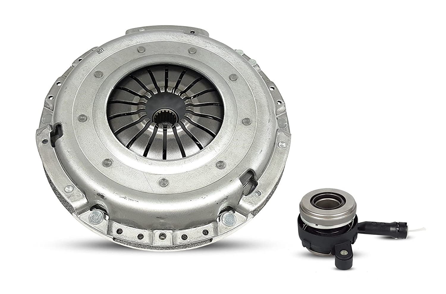 Clutch With Flywheel And Slave Modular Kit Works With Dodge Caliber Jeep Patriot Compass Latitude North Sport 2007-2014 2.0L l4 2.4L l4 GAS DOHC Naturally Aspirated Southeast Clutch