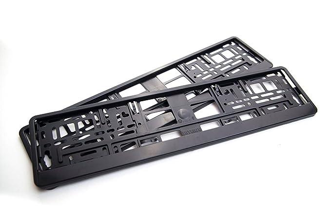 1 opinioni per Portatarga 2 pezzi nero adatto per targa standard UE 520 x 110mm.