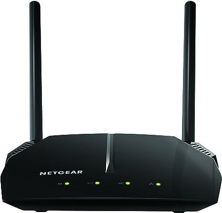 Netgear R6120 Router WiFi AC1200 Doble Banda, 4 Puertos Fast, 1200 Mbit/s