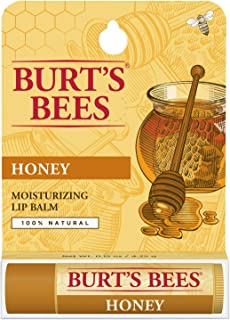 product image for Burt's Bees 100% Natural Moisturizing Lip Balm, Honey with Beeswax - 1 Tube
