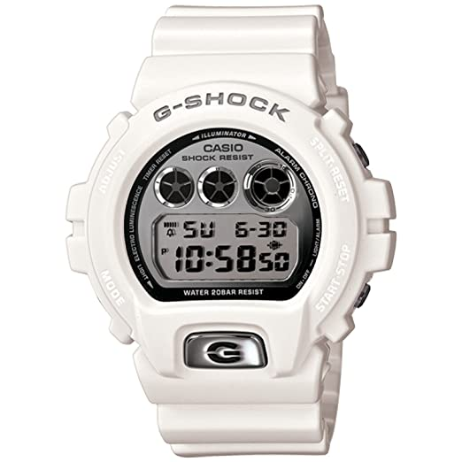 07315898eaf Buy G-Shock Vintage Metal 6900 Watch - White  Watch  Casio Online at Low  Prices in India - Amazon.in