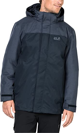 Jack Wolfskin Herren Echo Lake 3 in 1 Jacke
