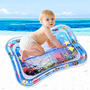 Arlando - Alfombra de Agua Hinchable para bebés, 66 x 50 cm ...