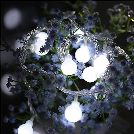 lclrute Fairy String Light - Balón de fútbol Shaped Curtain Lamp ...
