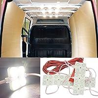 12V 40 LEDs Van Interior Light Kits, Ampper LED Ceiling Lights Kit for Van RV Boats Caravans Trailers Lorries Sprinter…