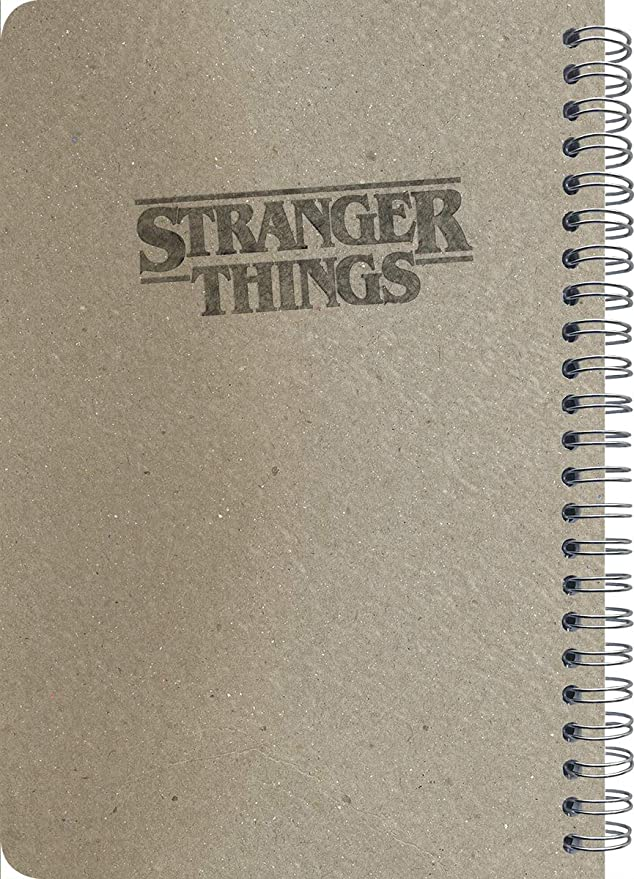 Stranger Things 2019 Planner Set - Deluxe 2019 Stranger Things Weekly Monthly Planner with Calendar Stickers (Spiral Bound, Hardcover; Office ...