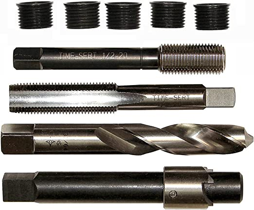 TIME-SERT Inch Stainless Steel Insert 4-40 X .200 Part # 04402