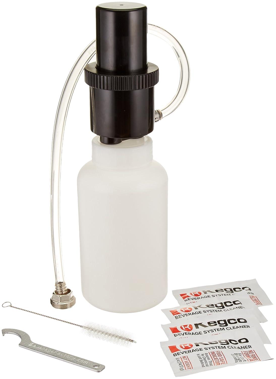 Kegco Beer Line Cleaning Kit 1 Qt. Bottle w/ 2 oz. Cleaner
