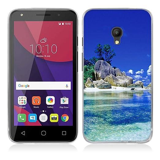 9 opinioni per Alcatel One Touch Pixi 4 (5) OT-5045X (5.0inch) Cover, Fubaoda Alta qualità