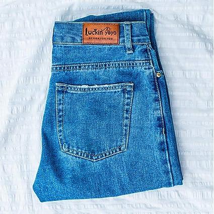 Jean Woman Mom Jeans Pantalones Boyfriend Jeans Para Mujeres Con Cintura Alta Push Up Jeans De Gran Tamano Para Mujer Denim Amazon Es Hogar