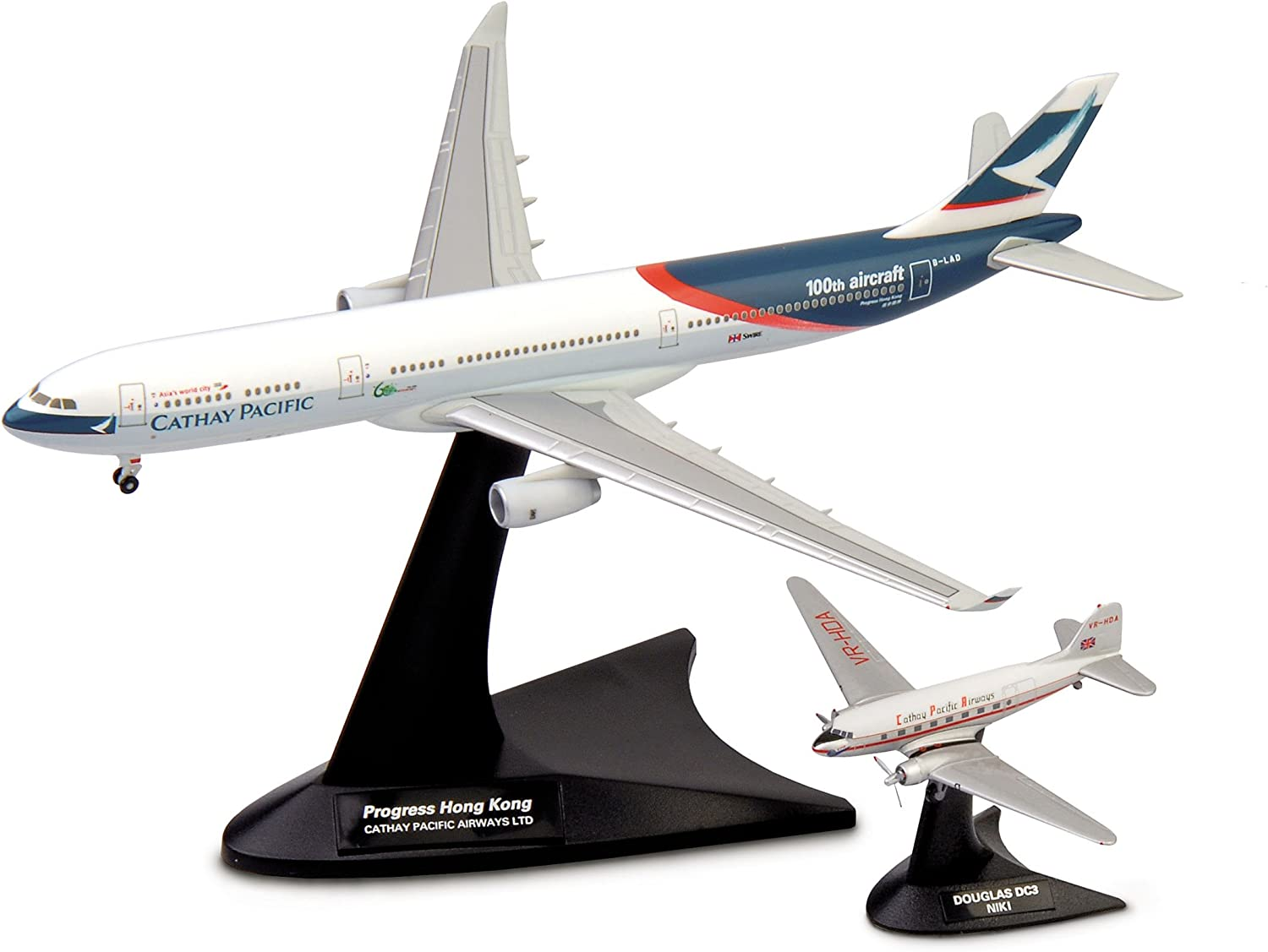 Herpa Wings 1:400 airbus a330 dc3 cathay pacific
