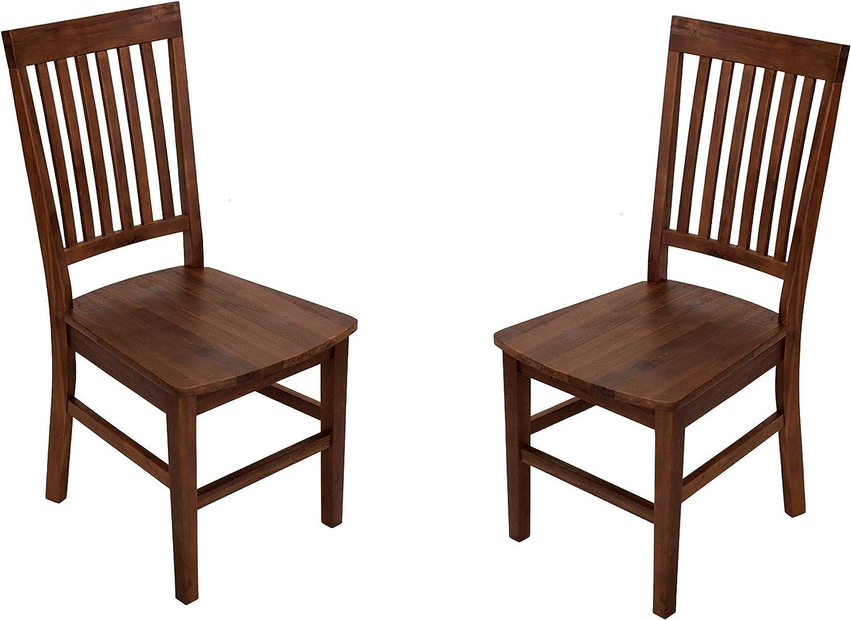 Esstisch-Stühle-braun-dunkel-Design