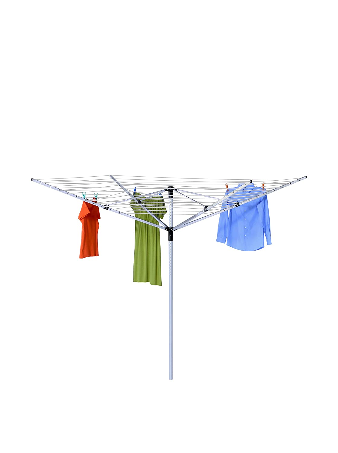 Honey-Can-Do Dry-05262 Umbrella Outdoor Dryer, 7 x 72, White