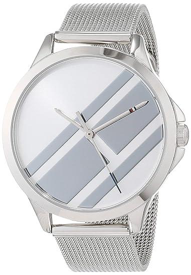 Tommy Hilfiger Reloj Analógico para Mujer de Cuarzo con Correa en Acero Inoxidable 1781961: Amazon.es: Relojes