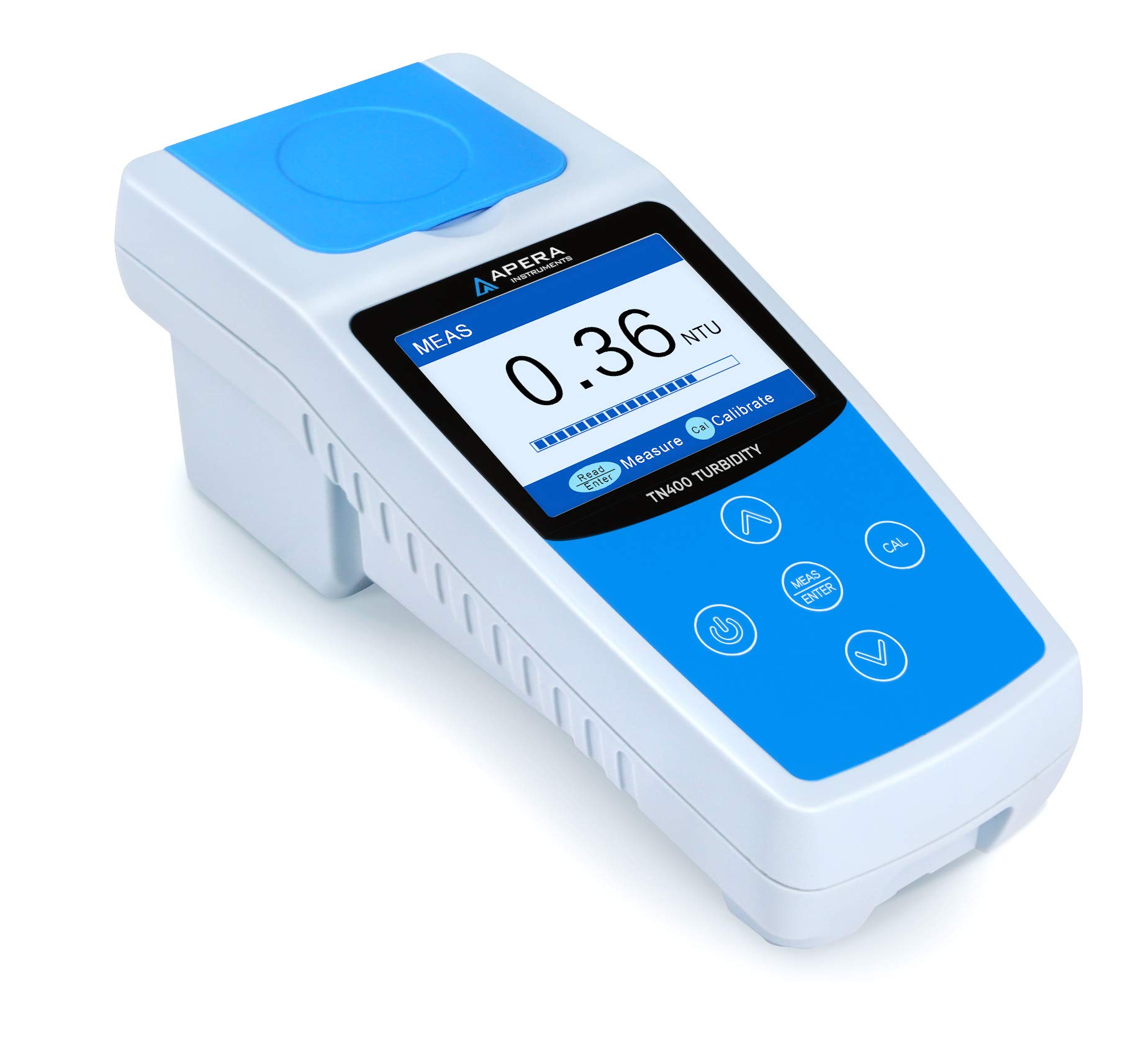 Apera Instruments TN400 Portable Turbidity Meter, Infrared Sensor, ISO 7027 Compliant, Accuracy: ±2%+Stray Light by Apera Instruments, LLC