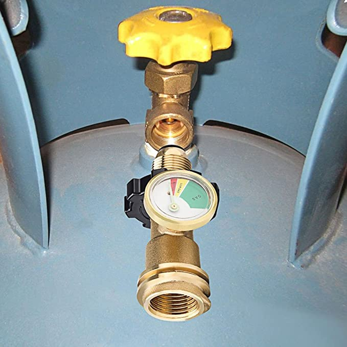 Amazon.com: WRKAMA - Medidor de presión de gas para tanque ...