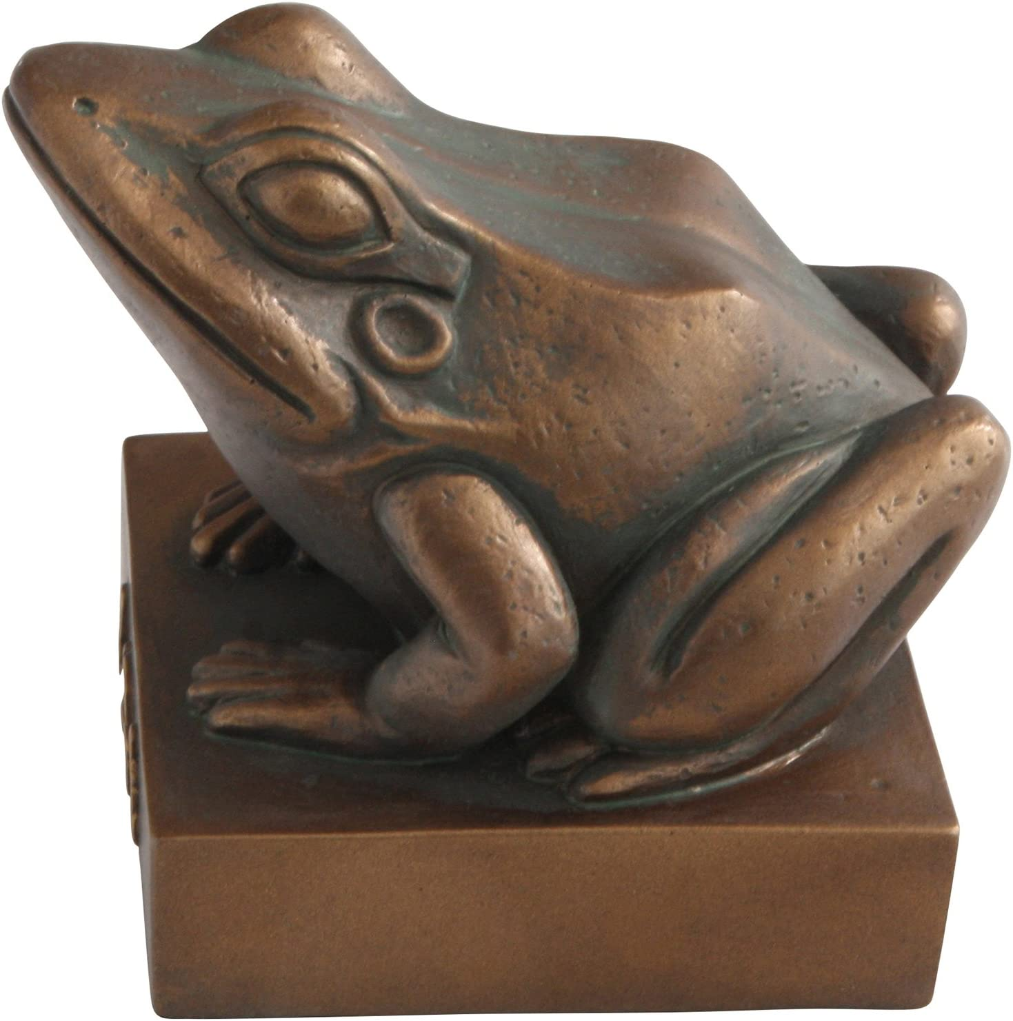 frog Heket Kek Egyptian goddess statue with bronze trim House of ancient treasur