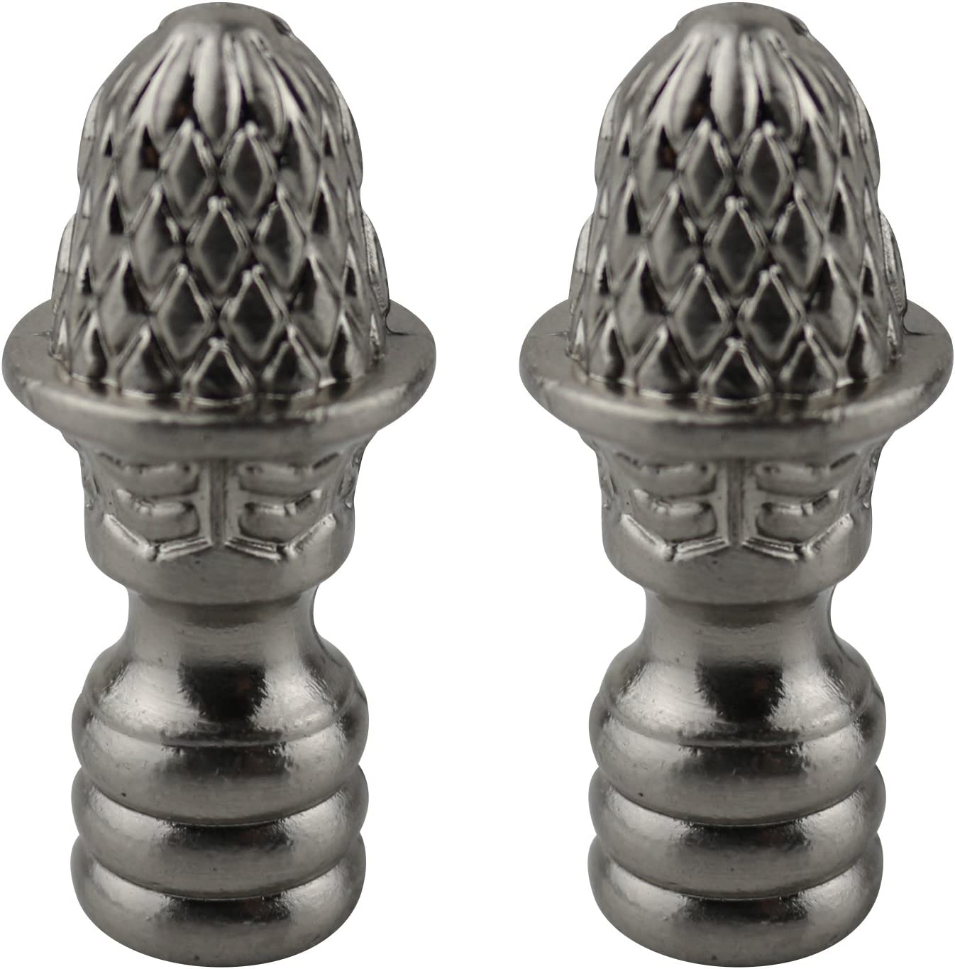 Antique Brass Urbanest Set of 2 Rothwell Lamp Finial 1 5//16-inch Tall
