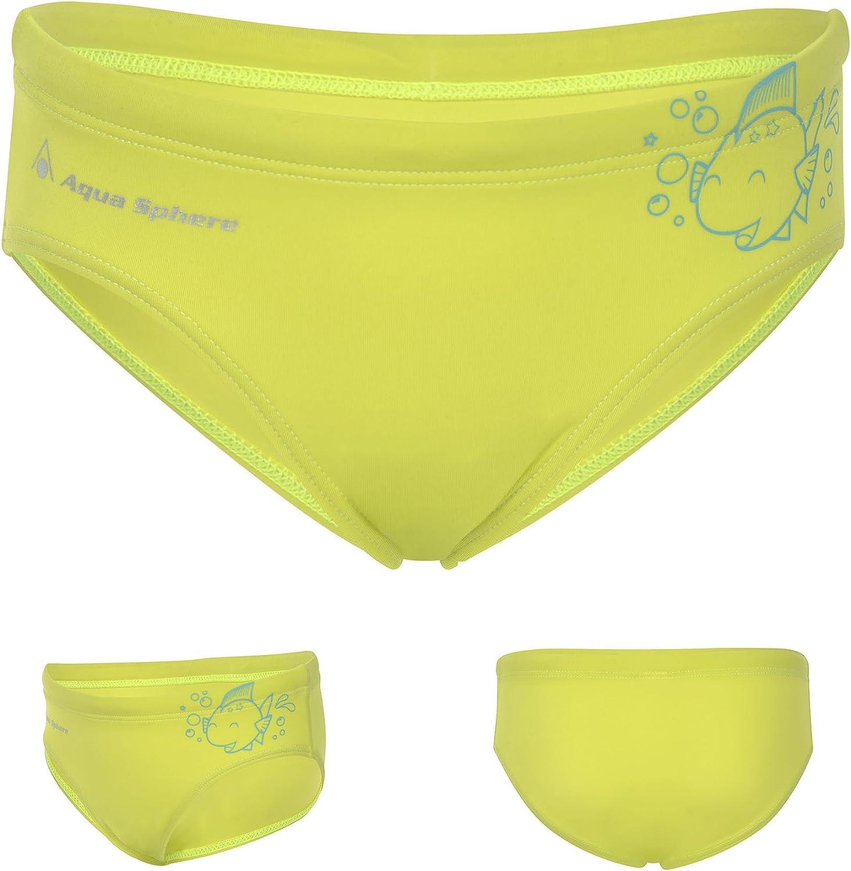 Aqua Sphere KIMIKO Boys Swimming Trunks Childrens Briefs Age 2-8 Years