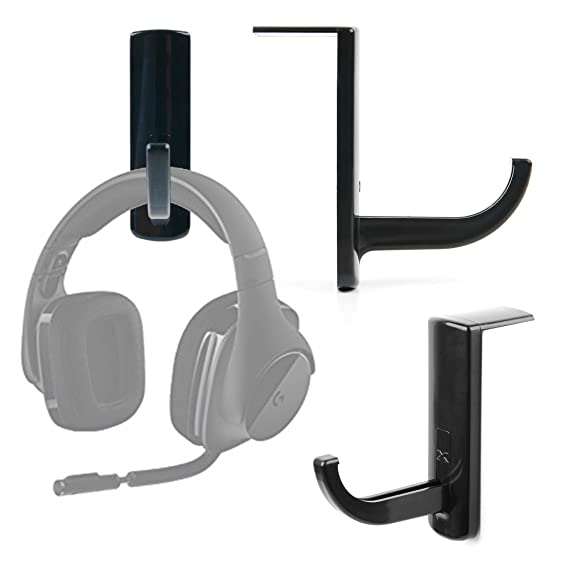 Amazon Com Duragadget Universal Adhesive Headphone Hook For The