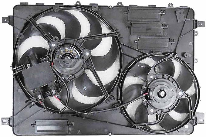 Dual radiador y condensador Ventilador vo3115116 para Volvo S80 ...