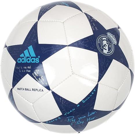 adidas Finale16Real MadridMin Balón de Fútbol, Hombre, Blanco ...