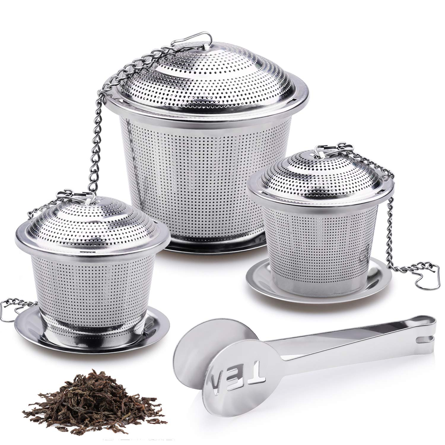 Fine mesh so none of the tea leaves or crumbs get into your brew!