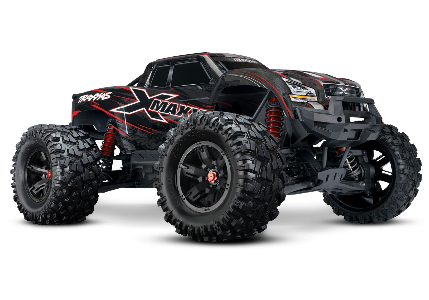 Traxxas 8S X-Maxx 4WD Brushless Electric Monster RTR Truck, Red