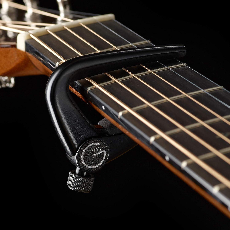 G7th 200-126 - Cejilla para guitarra para guitarra acústica, color ...