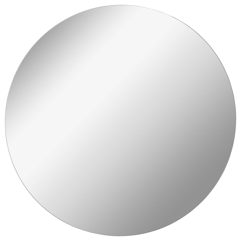 Fackelmann Mirrors Spiegel rund / Druchmesser 80 cm / Spiegelelement hängend für das Gäste WC oder Badezimmer 84365