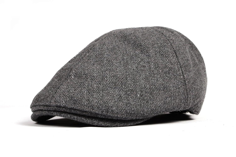 WITHMOONS Wool Newsboy Hat Flat Cap SL3021 SL3021Beige