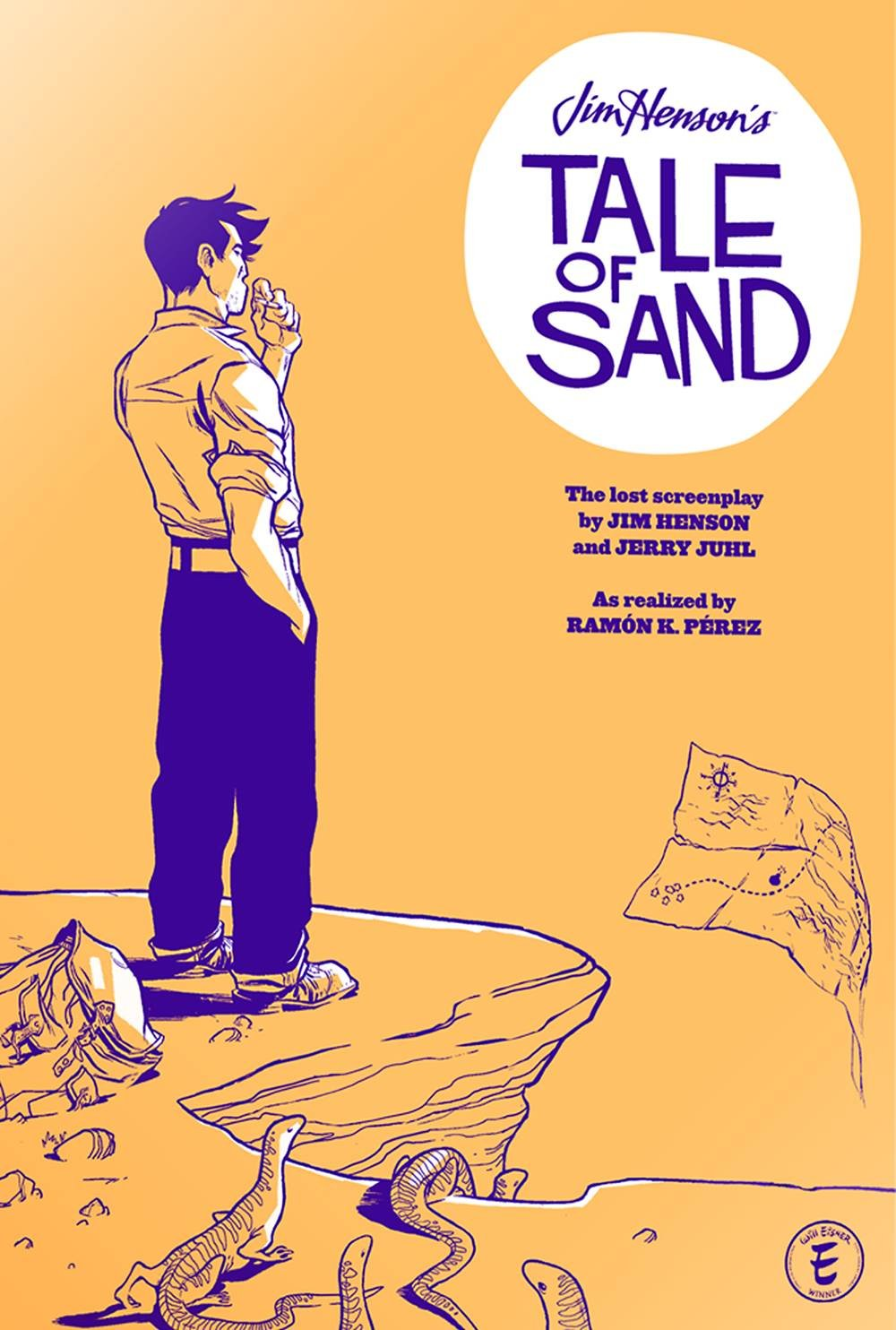 Jim Henson's Tale of Sand  cover