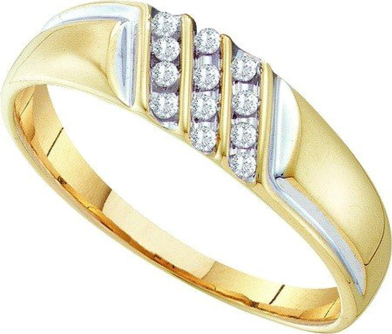 0.12ctw Diamond Fashion Mens Ring