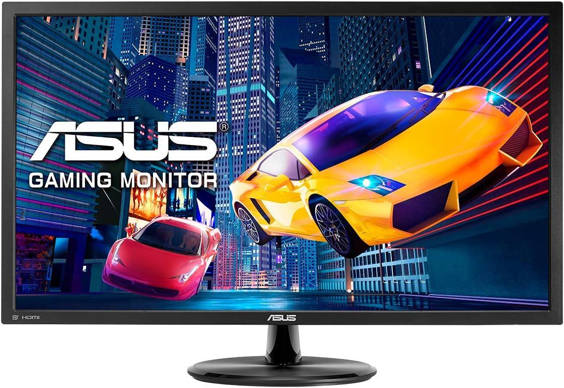 ASUS VP28UQG, 28'' 4K Gaming Monitor, 3840 x 2160, 1 ms, DP, HDMI, FreeSync, Filtro Luce Blu, Flicker Free, Certificazione TUV