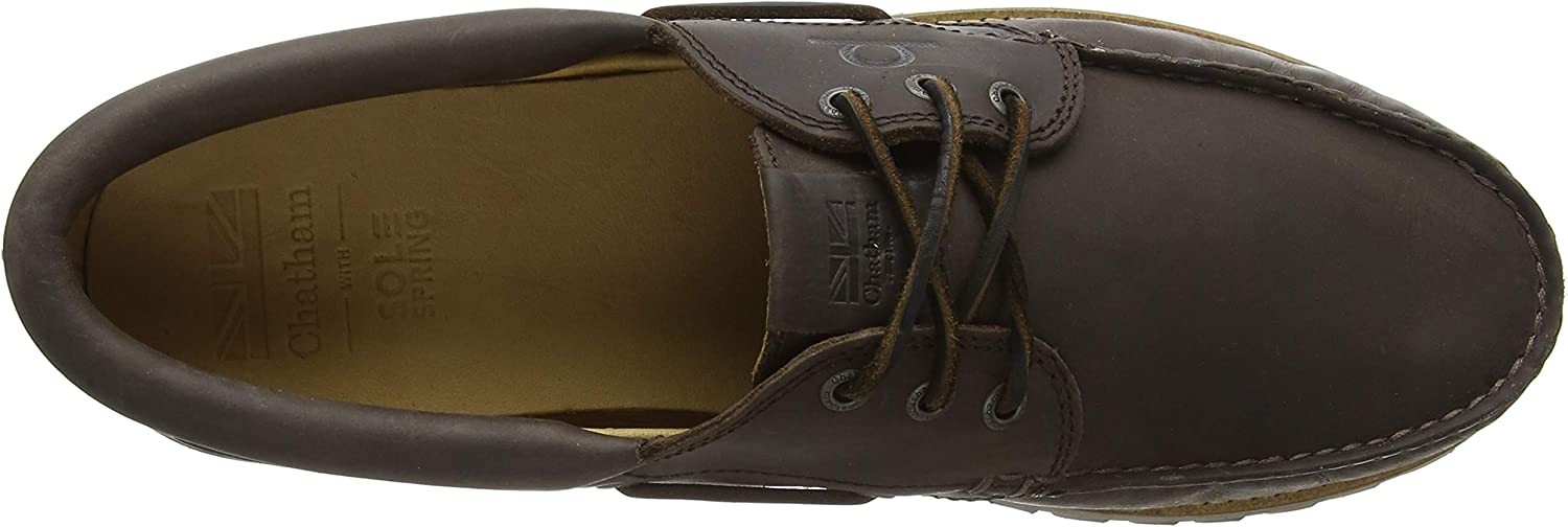 Chatham Mens Sperrin Boat Shoes