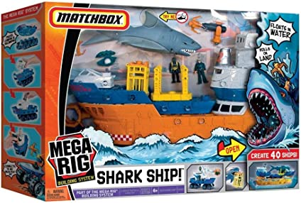 Toy / Game Mattel Matchbox Mega Rig Shark Adventure