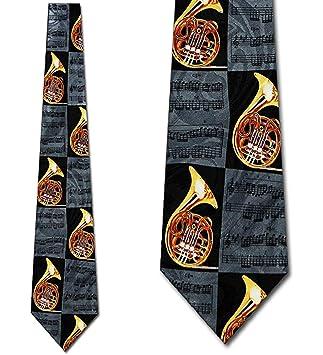 Corbata Corbata De Corno Francés Para Hombre Corbatas Negras ...